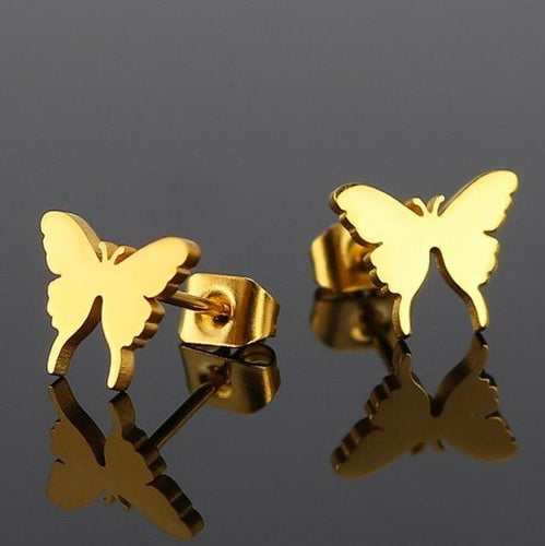 Butterfly Earrings - myanimal-jewelry.com