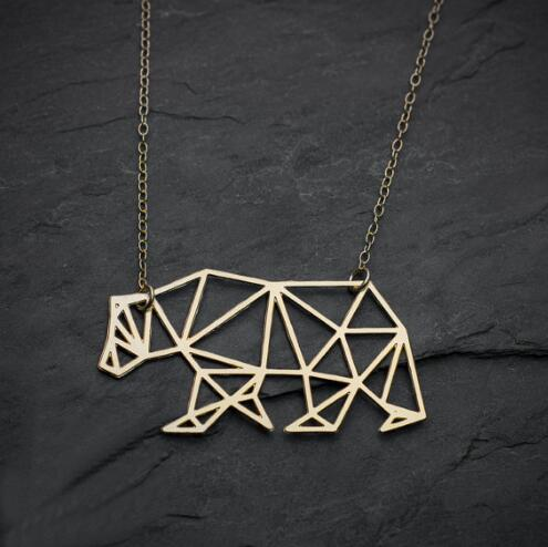 Charm Geometric Necklace - myanimal-jewelry.com