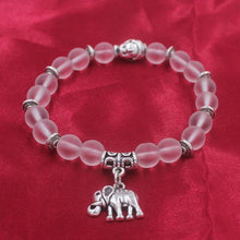 Load image into Gallery viewer, Elastic Elephant Bracelet - myanimal-jewelry.com