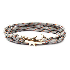 Gold Shark Bracelet - myanimal-jewelry.com