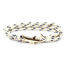 Load image into Gallery viewer, Gold Shark Bracelet - myanimal-jewelry.com