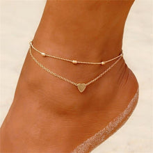 Load image into Gallery viewer, Multilayer Butterfly Anklet - myanimal-jewelry.com