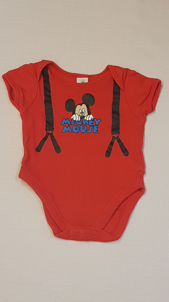 DISNEY BABY MICKEY MOUSE KISFIÚ BODY 68