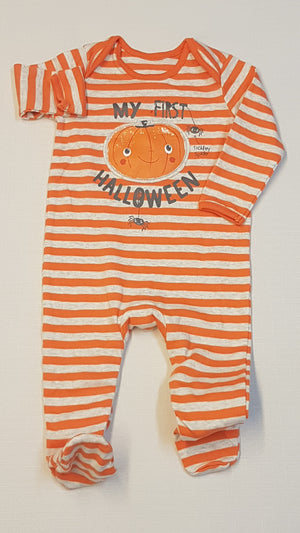 GEORGE UNISEX MY FIRST HALLOWEN FELIRATÚ 68-74
