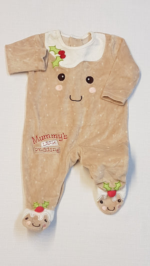 GEORGE  MUMMY'S LITTLE PUDDING FELIRATÚ ÉDI UNISEX RUGI 56-74