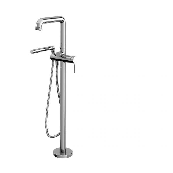 Kalia Bf1804 110 Preciso Floor Mount Tub Filler With Hand