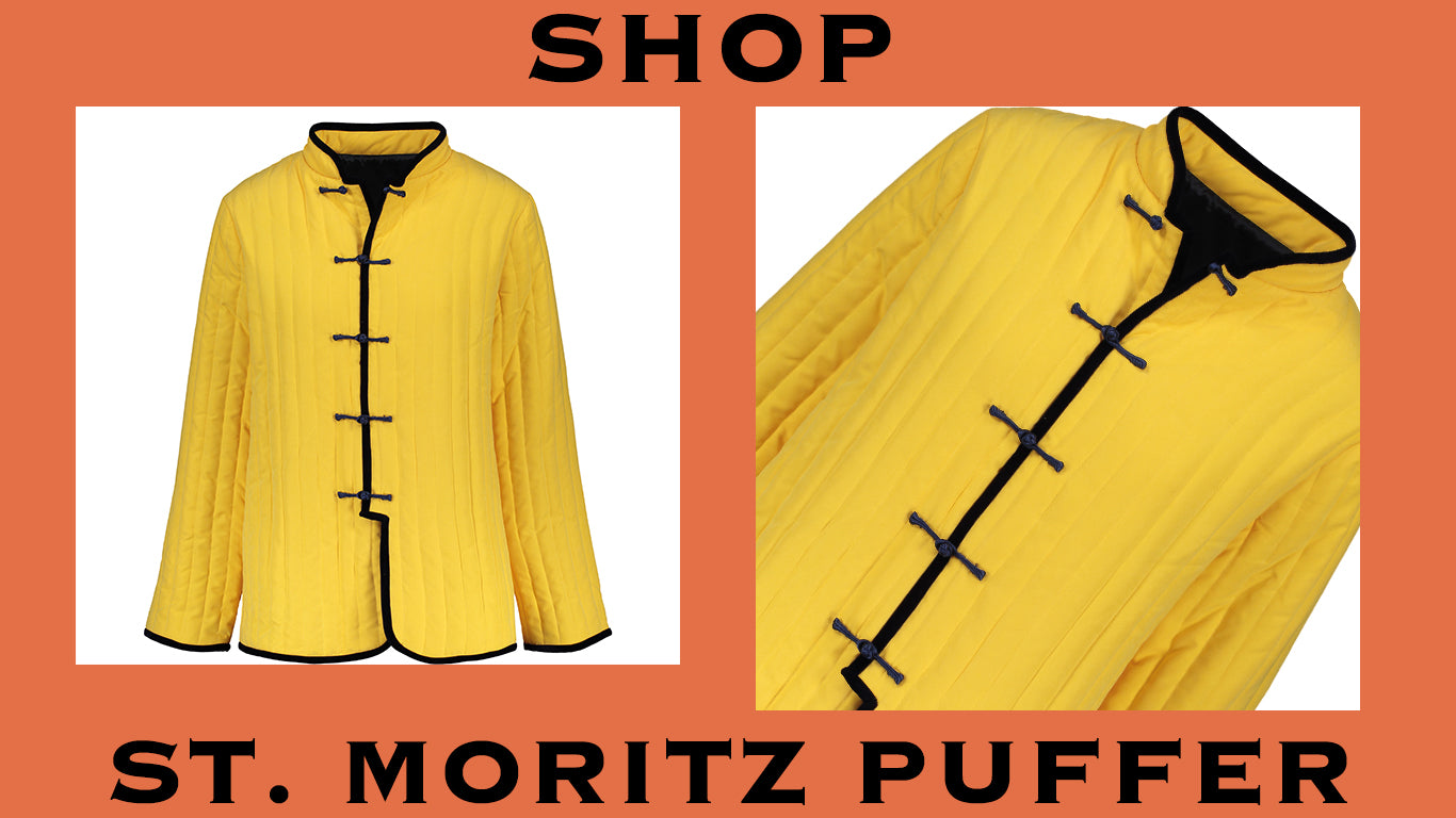 Product graphic of st. moritz puffer blazer. shop.