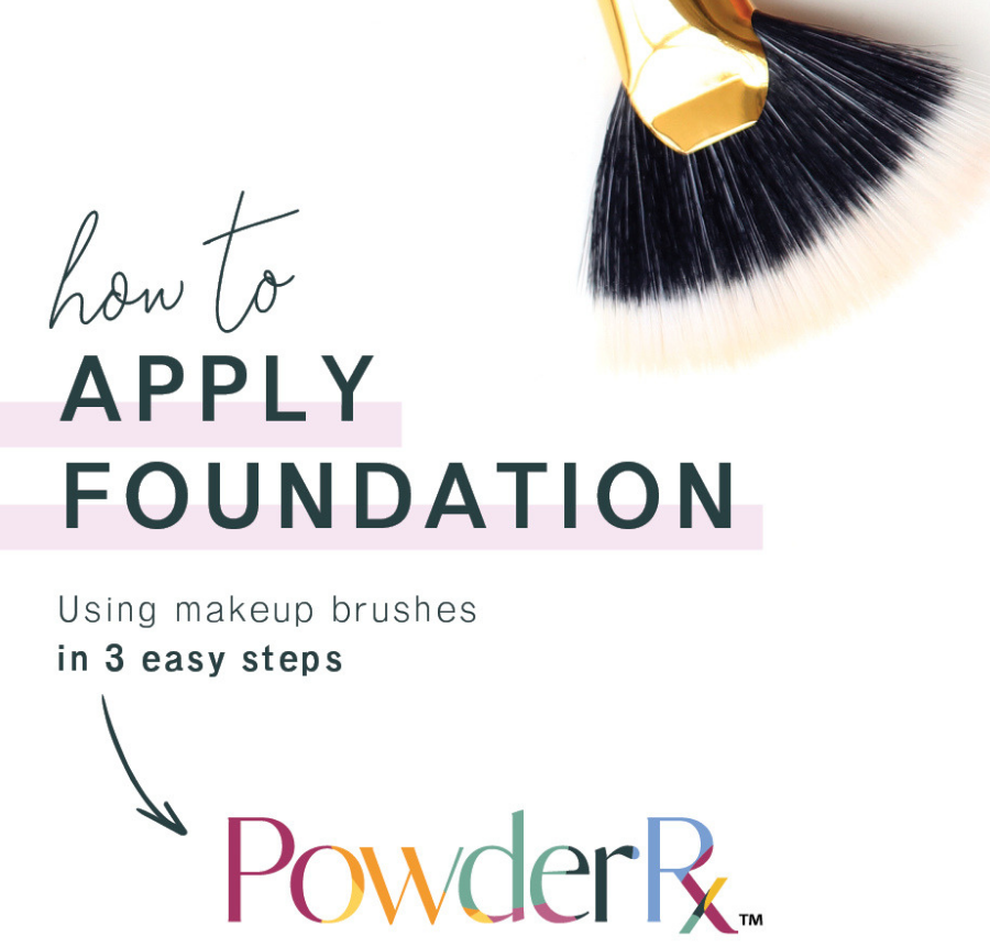 How To: Apply Foundation with Makeup Brushes