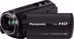 Panasonic Full HD WiFi Enabled 50X Camcorder (HC-V250K)