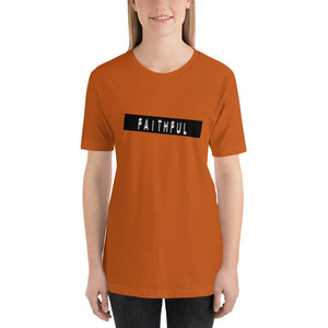 Faithful Label Me tee