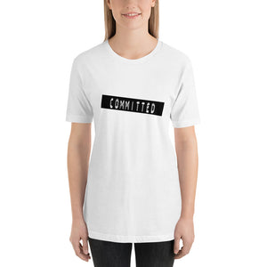 Committed Label Me tee