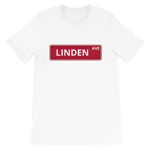 Red Street Sign tee