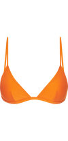 Voyager Bikini Top in Orange