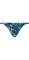 Voyager Bottom in Blue Butterfly Print