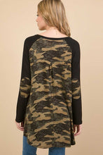 Load image into Gallery viewer, Christy Camo Tunic