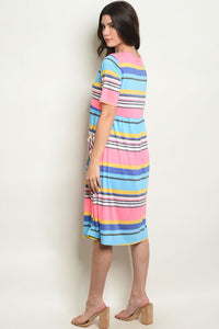 Aria Striped Dress