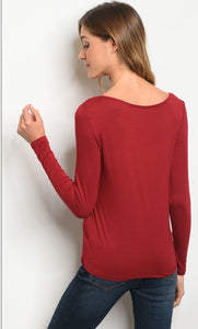 Jubilee Red Blouse