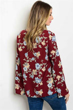 Load image into Gallery viewer, Jenni Floral Blouse