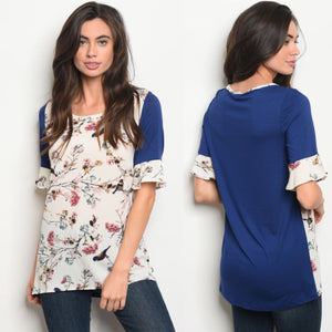 Stella Floral Blouse -2 Colors