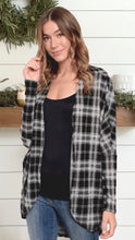 Load image into Gallery viewer, Savannah Plaid Cardigan
