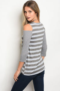 Quinn Stripe Blouse