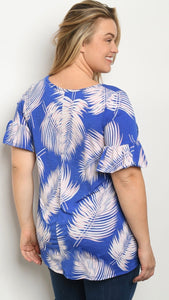 Beverly Palms Blouse