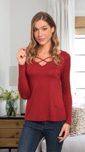 Load image into Gallery viewer, Jubilee Red Blouse
