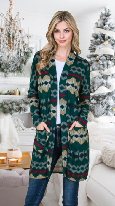 Jessica Holiday Cardigan