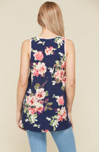 Load image into Gallery viewer, Molly Floral Tank -2 Colors