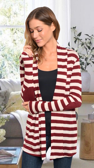 Kathryn Red Cardigan