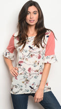Load image into Gallery viewer, Stella Floral Blouse -2 Colors