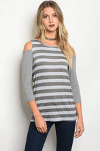 Load image into Gallery viewer, Quinn Stripe Blouse