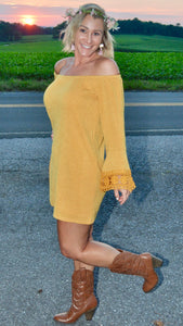 Kinsley Mustard Dress