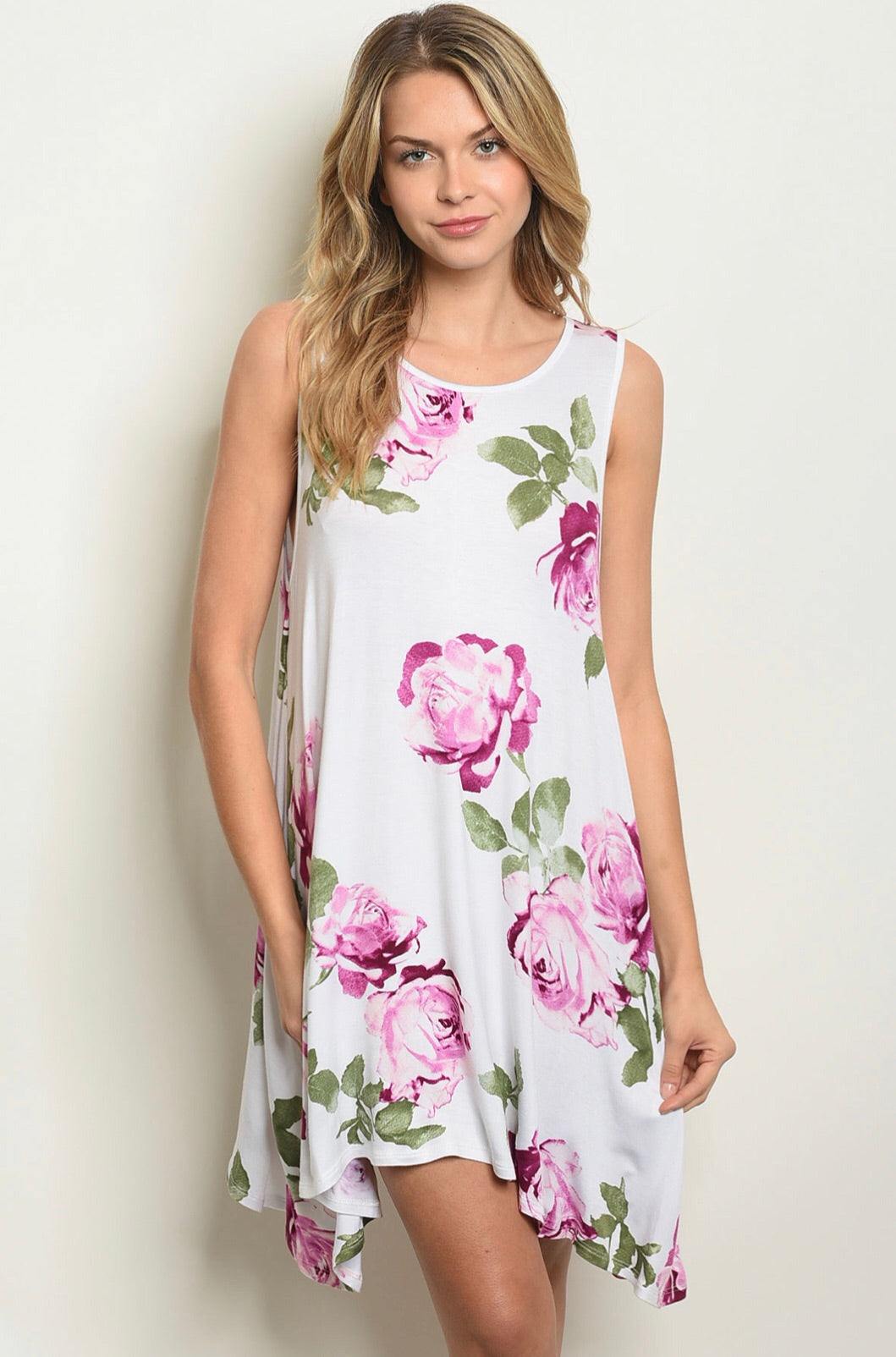 Gemma Floral Dress -2 Colors