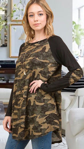 Christy Camo Tunic