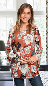 Grace Floral Blouse