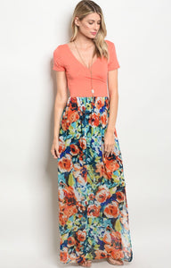 Everly Floral Dress -2 Colors