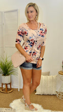 Load image into Gallery viewer, Natalie Floral Blouse