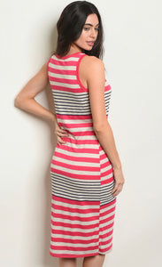 Erin Stripes Dress