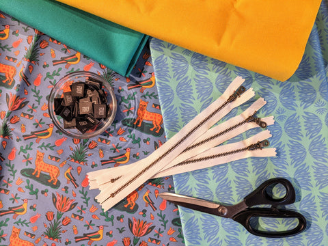 heirloom fabric collection by jen fox