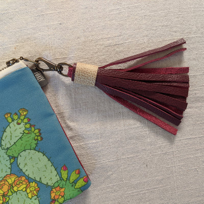 Leather Tassel with Swivel Clasp
