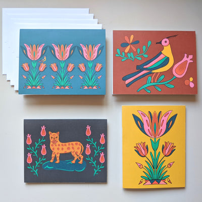 Heirloom Greeting Cards - Set of 4