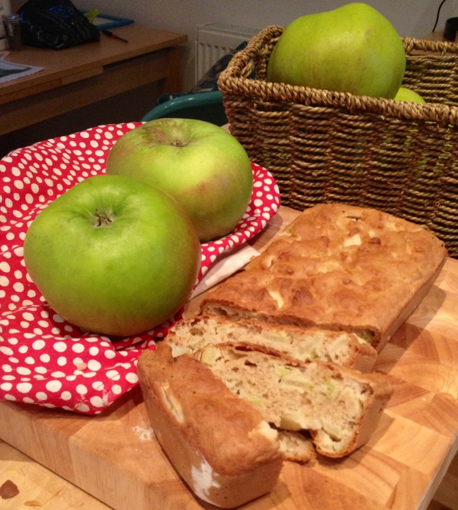 "Bramley Apple Soda Bread by Jack Monroe from ""A year in 120 recipes"""