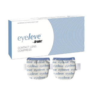 Eyeleve Contact Lens Compress | Box and Compress