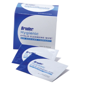 Bruder Hygienic Eyelid Cleansing Wipes