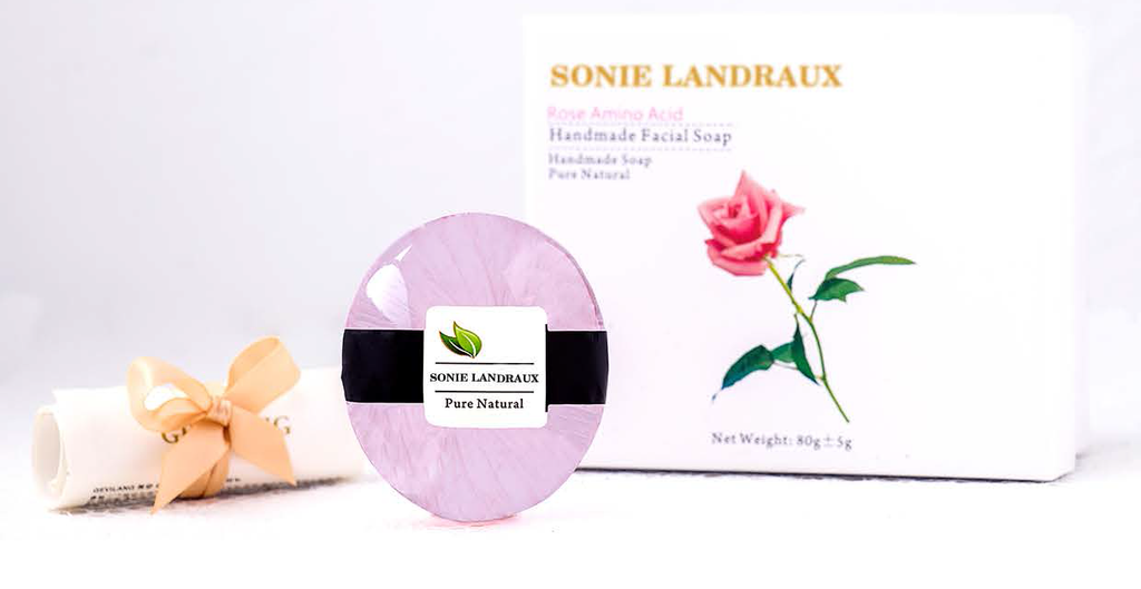 Rose Amino Acid Handmade Facial Soap