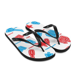 Flip-Flops with Russian symbols