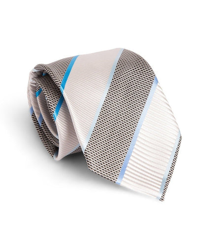 Smoke and Shadow Stripe Standard Necktie (Adult and Youth)