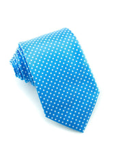 Cobalt Dot Standard Necktie (Adult and Youth)