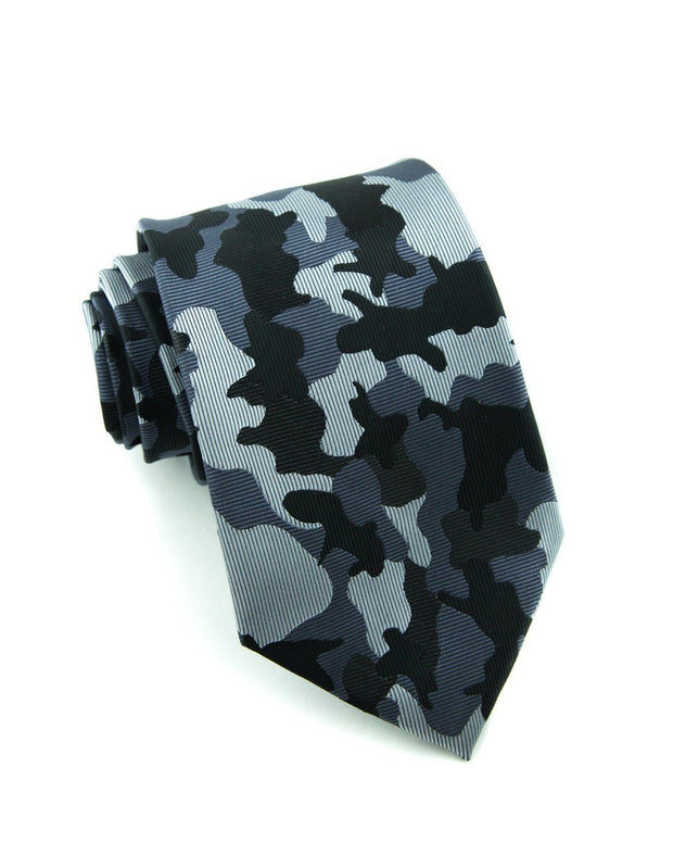 Midnight Camo Standard Necktie (Adult and Youth)